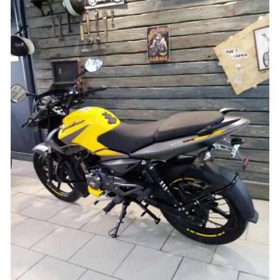 Мотоцикл BAJAJ Pulsar NS 125 желто-серый